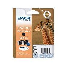 Tooner Epson Ink T0711 black Doublepack...