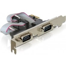 Delock PCI Expr Card 2x D-Sub9 ext...