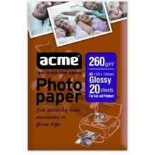 Acme foto Paper Glossy, A6, Weight 260 g/m²