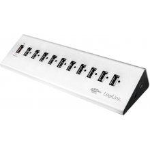 LogiLink High USB 2.0 speed hub 10-port