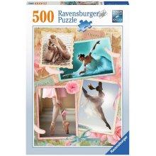 RAVENSBURGER 500 ELEMENTÓW Baletnica