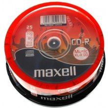 Диски Maxell CD-R 700 MB AUDIO XL II CAKE 25...