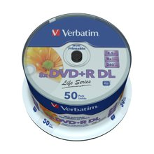 Diskid Verbatim DVD+R 8.5GB 8X DOUBLE LAYER