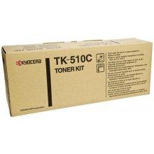Тонер Kyocera TK-510C, Laser, голубой