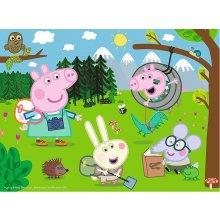 TREFL Puzzle 30 pcs - Peppa Pig, Forest...