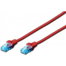 DIGITUS Patch cord U/UTP kat.5e PVC 0,5m...