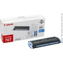 Тонер Canon Toner Cartridge 707 C голубой