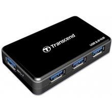 Transcend USB 3.0-Hub чёрный