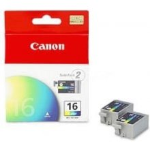 Tooner Canon tint Cartridge BCI16CL 2pack...