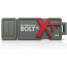 Флешка PATRIOT Supersonic Bolt XT 64GB USB...
