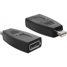 Delock Displayport адаптер mini DP -> DP...