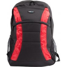 Natec notebook backpack YAK black-red 15,6