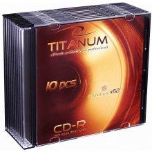 Diskid Titanum CD-R 700MB x56 - Slim 10