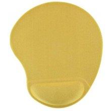 4World Gel mousepad, жёлтый