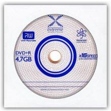 Диски Extreme DVD+Rx16 4,7GB envelope 1