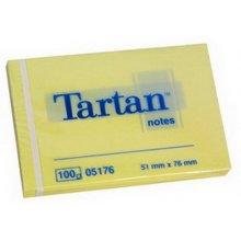 3M Märkmepaber Tartan 51x76mm, жёлтый, 100l