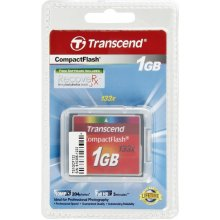 Mälukaart Transcend Compact Flash 1GB 133x