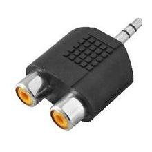 LogiLink Audio адаптер 1x Mini 3,5mm -> 2x...