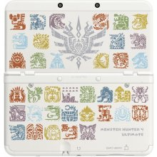 NINTENDO новый 3DS чехол MH4U белый