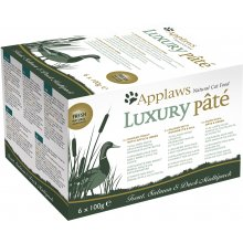 Applaws cat PASTEET LUXURY MULTIPACK 100G...