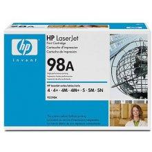 Тонер HP 92298A Toner чёрный