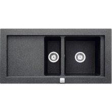 Teka Sink Aura 60 B-TG алюминиевый metallic