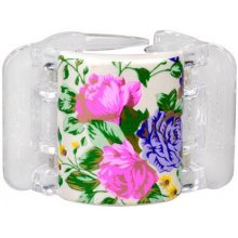 Linziclip Midi белый Pearl Flowers 1pc -...