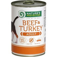 Natures Protection NP Dog Adult Beef&Turkey...