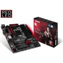 Emaplaat MSI B150M NIGHT ELF Sockel LGA1151...