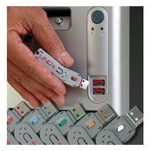 LINDY USB Port Schloss (4 Stück)