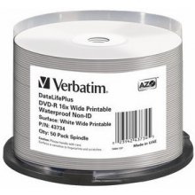 Диски Verbatim DVD-R [ spindle 50 | 4.7GB |...