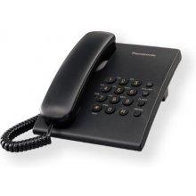 Телефон PANASONIC Corded KX-TS500FXB 475 g...