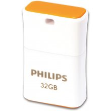 Флешка Philips 32GB Pico 2.0, USB 2.0, Cap...