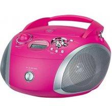 Grundig Magnetoola, CD, USB, roosa
