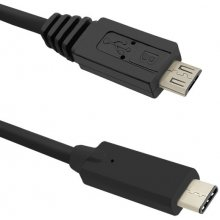 Qoltec кабель USB 3.1 type C male | Micro...