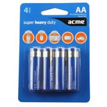 Acme R6P Super Heavy Duty Batteries AA/LR6...