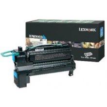 Lexmark X792X1CG Toner Cartridge, голубой...
