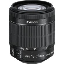 Canon EF-S 18-55mm f/3.5-5.6 IS STM, SLR...