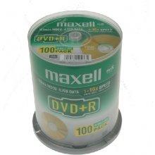 Диски Maxell DVD+R 4,7 GB 16x CAKE 100 pcs