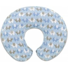 CHICCO Boppy Pillow Blue Elephants