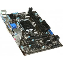 Emaplaat MSI H81M-E34, DDR3-SDRAM, DIMM...