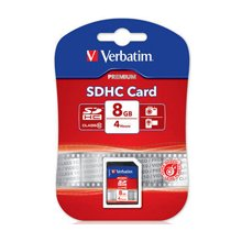 Mälukaart Verbatim 8GB SECURE digitaalne