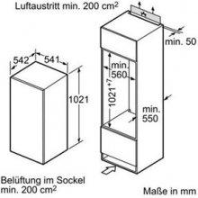 Холодильник SIEMENS KI20LV60 белый (EEK:...