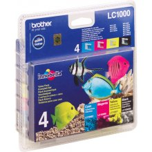 Тонер BROTHER LC1000 Tinte Multipack чёрный...