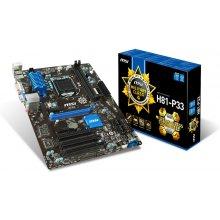 Emaplaat MSI H81-P33, H81, DualDDR3-1600...