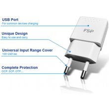 Fortron 5V/2.1A USB akulaadija