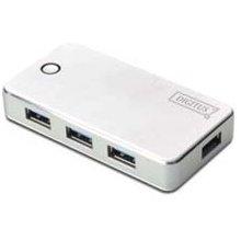 DIGITUS USB 3.0 Hub, 4-Port, valge