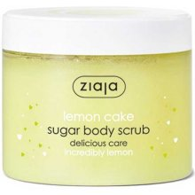 Ziaja Lemon Cake Sugar Body Scrub 300ml -...
