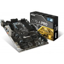 Emaplaat MSI Z170-A PRO, Z170...