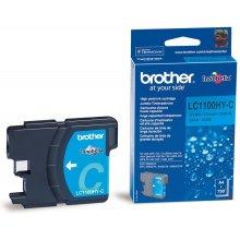 Тонер BROTHER чернила LC1100HYC голубой |...